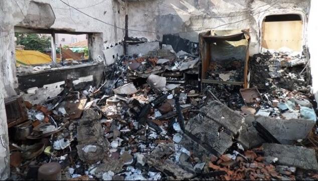 נזקי אש לתכולת הדירה