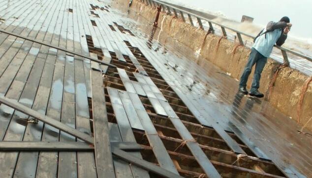 פגעי טבע בנמל