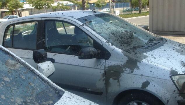 נזק לרכוש בעקבות פיצוץ בצנרת בטון